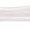 Metallic Braided Cord 2mm 12m White